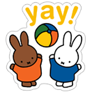 Miffy sticker 12
