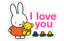 Miffy sticker 14