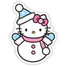 Стикер Hello Kitty Winter Holiday 4