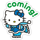 Стикер Hello Kitty Winter Holiday 8