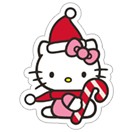 Стикер Hello Kitty Winter Holiday 16