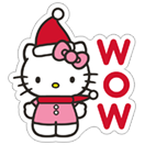 Стикер Hello Kitty Winter Holiday 23