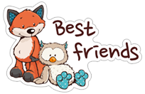 NICI Forest Friends sticker 6