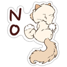 NICI Snow Cats sticker 8