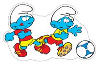 The Soccer Smurfs sticker 1