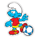 The Soccer Smurfs sticker 3