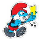 The Soccer Smurfs sticker 7