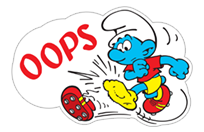 The Soccer Smurfs sticker 8
