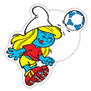 The Soccer Smurfs sticker 11