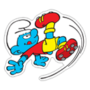 The Soccer Smurfs sticker 13