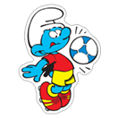 The Soccer Smurfs sticker 15