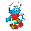 The Soccer Smurfs sticker 18