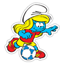 The Soccer Smurfs sticker 19
