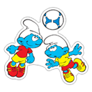 The Soccer Smurfs sticker 21
