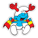 The Soccer Smurfs sticker 23