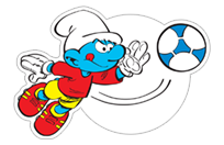 The Soccer Smurfs sticker 24