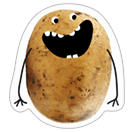 A Pack of Potatoes sticker 1