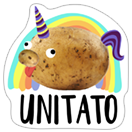 A Pack of Potatoes sticker 3