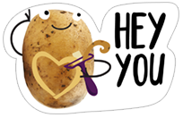 A Pack of Potatoes sticker 5