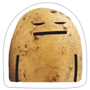 A Pack of Potatoes sticker 16
