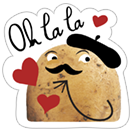 A Pack of Potatoes sticker 25
