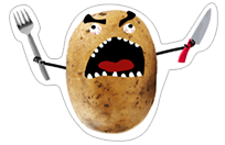 A Pack of Potatoes sticker 26