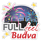 Стикер FULL.feel.Budva 9