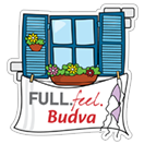 Стикер FULL.feel.Budva 21