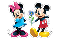 Mickey Mouse - Valentine sticker 8