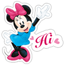 Mickey Mouse - Valentine sticker 15