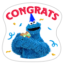 Стикер Cookie Monster Stickers 4