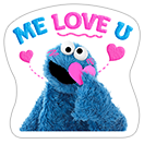 Стикер Cookie Monster Stickers 5