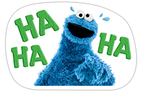 Стикер Cookie Monster Stickers 7