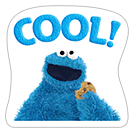 Стикер Cookie Monster Stickers 9