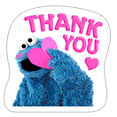 Стикер Cookie Monster Stickers 12