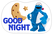 Стикер Cookie Monster Stickers 14