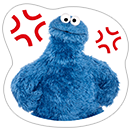 Стикер Cookie Monster Stickers 20