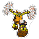 Ninja Turtles sticker 4