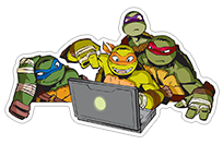 Ninja Turtles sticker 5