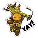 Ninja Turtles sticker 7