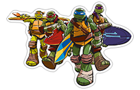 Ninja Turtles sticker 9