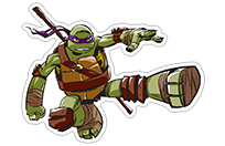 Ninja Turtles sticker 10