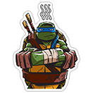 Ninja Turtles sticker 11