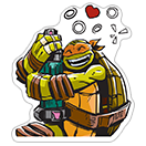 Ninja Turtles sticker 12