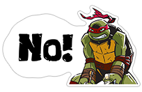 Ninja Turtles sticker 13