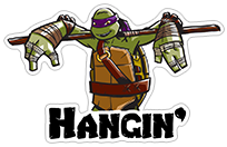 Ninja Turtles sticker 14