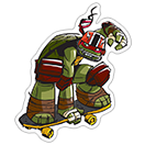 Ninja Turtles sticker 16