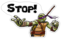 Ninja Turtles sticker 17