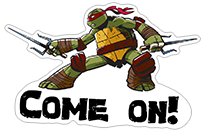 Ninja Turtles sticker 23