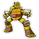 Ninja Turtles sticker 25